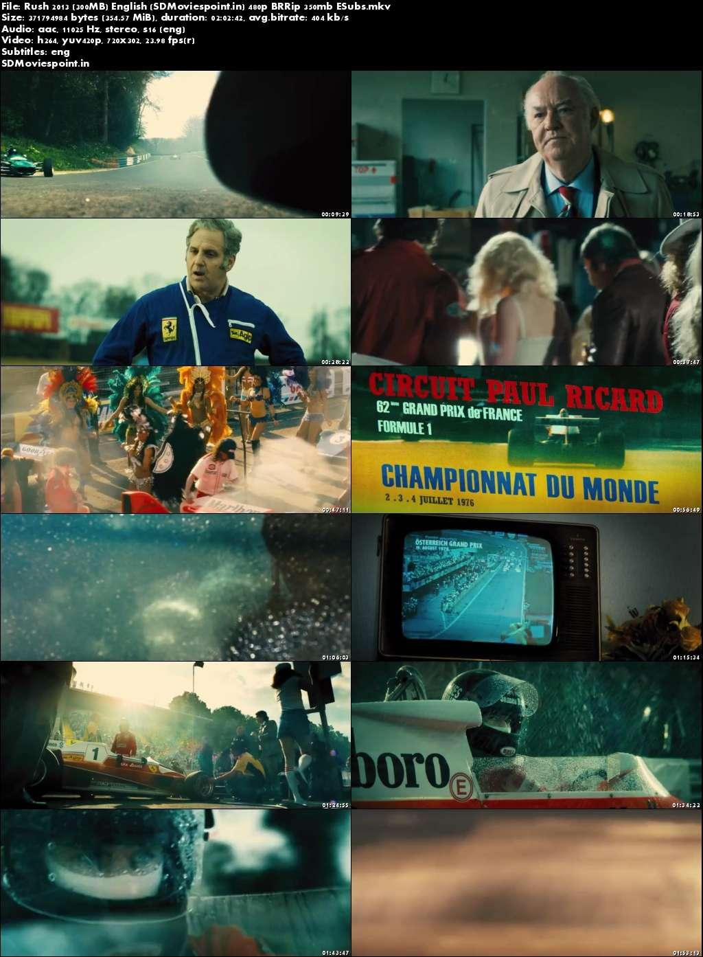 Screen Shots Rush 2013 Full English Movie Download