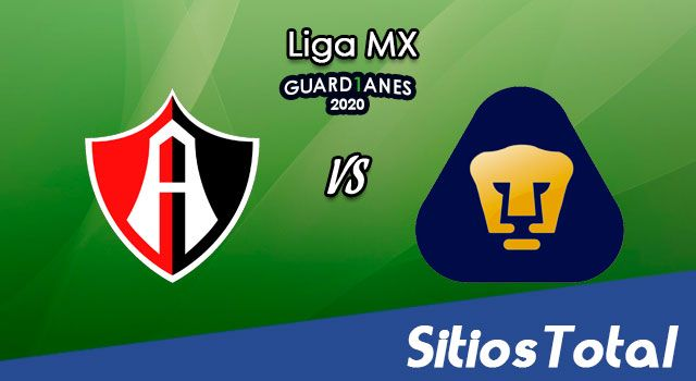 Atlas vs Pumas UNAM en Vivo – Liga MX – Guardianes 2020 – Lunes 3 de Agosto del 2020