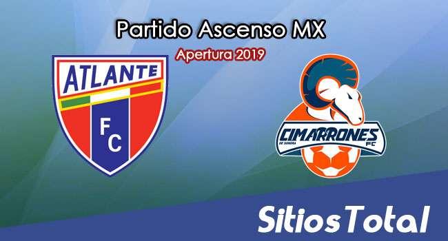 Ver Atlante vs Cimarrones de Sonora en Vivo – Ascenso MX en su Torneo de Apertura 2019