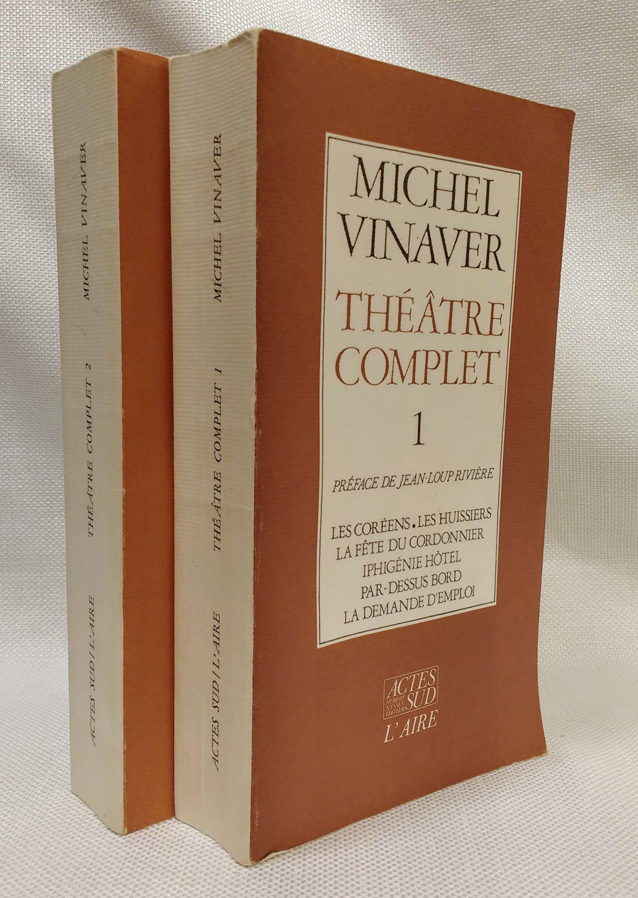 The?a?tre complet (French Edition) Volumes 1 & 2, Vinaver, Michel