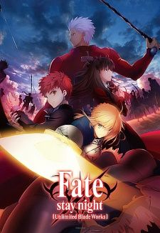 Fate/stay night: Unlimited Blade Works's Cover Image