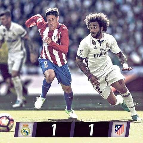 اهداف مباراه ريال مدريد واتليتكو