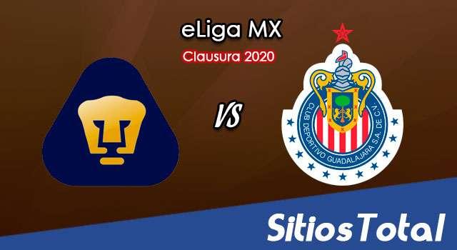 Pumas vs Chivas en Vivo – eLiga MX – Miércoles 3 de Junio del 2020