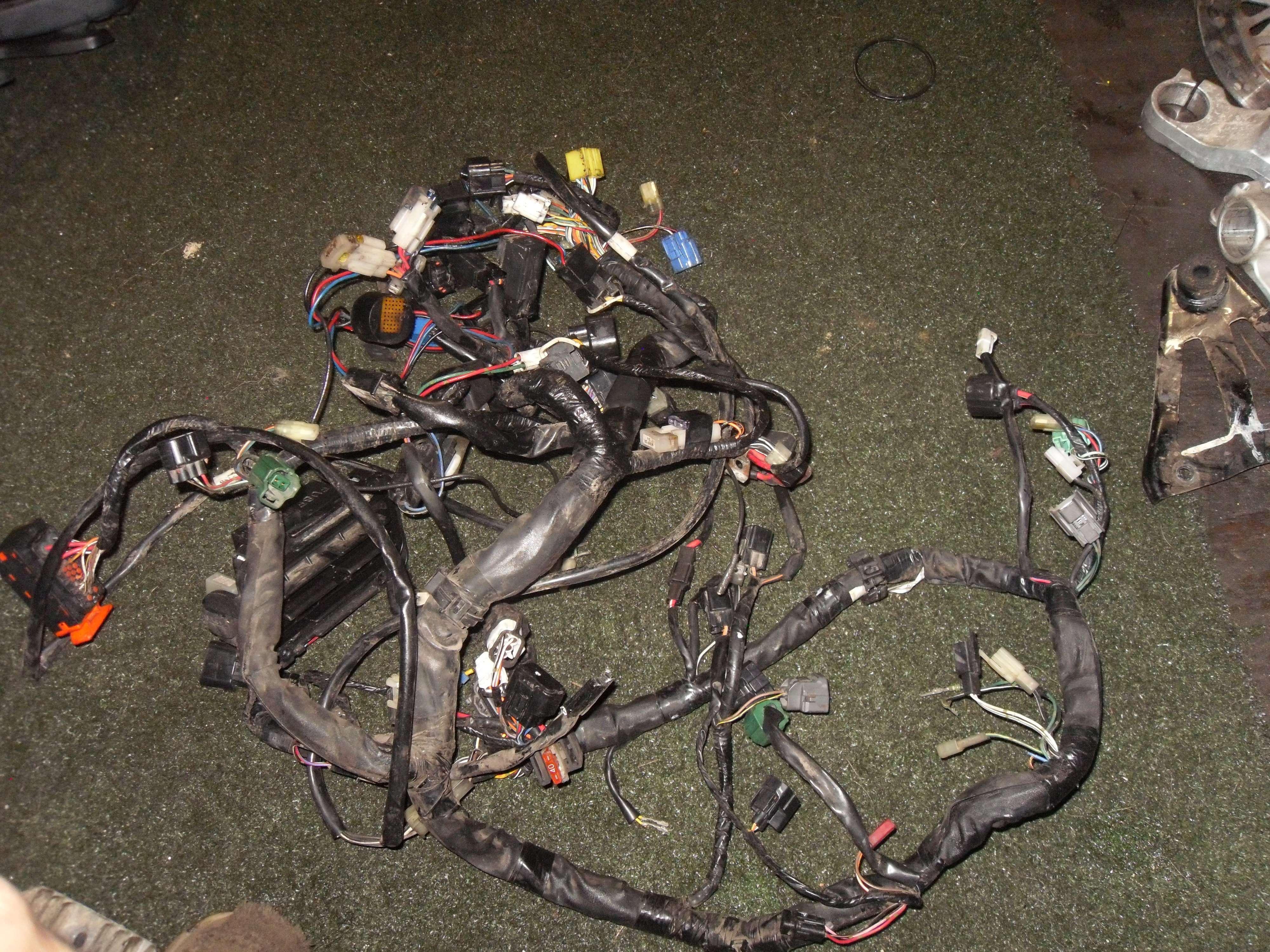 2006 Suzuki Burgman 650 An650 Wiring Harness Damaged For Parts