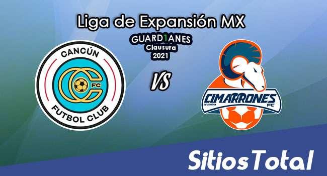 Cancún FC vs Cimarrones de Sonora en Vivo – Canal de TV, Fecha, Horario, MxM, Resultado – J2 de Guardianes Clausura 2021 de la  Liga de Expansión MX