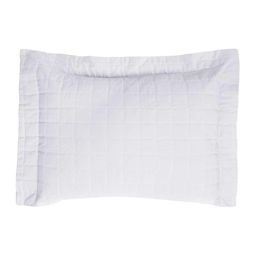 Porta Travesseiro Montreal 150 Fios Algodão Macio Branco