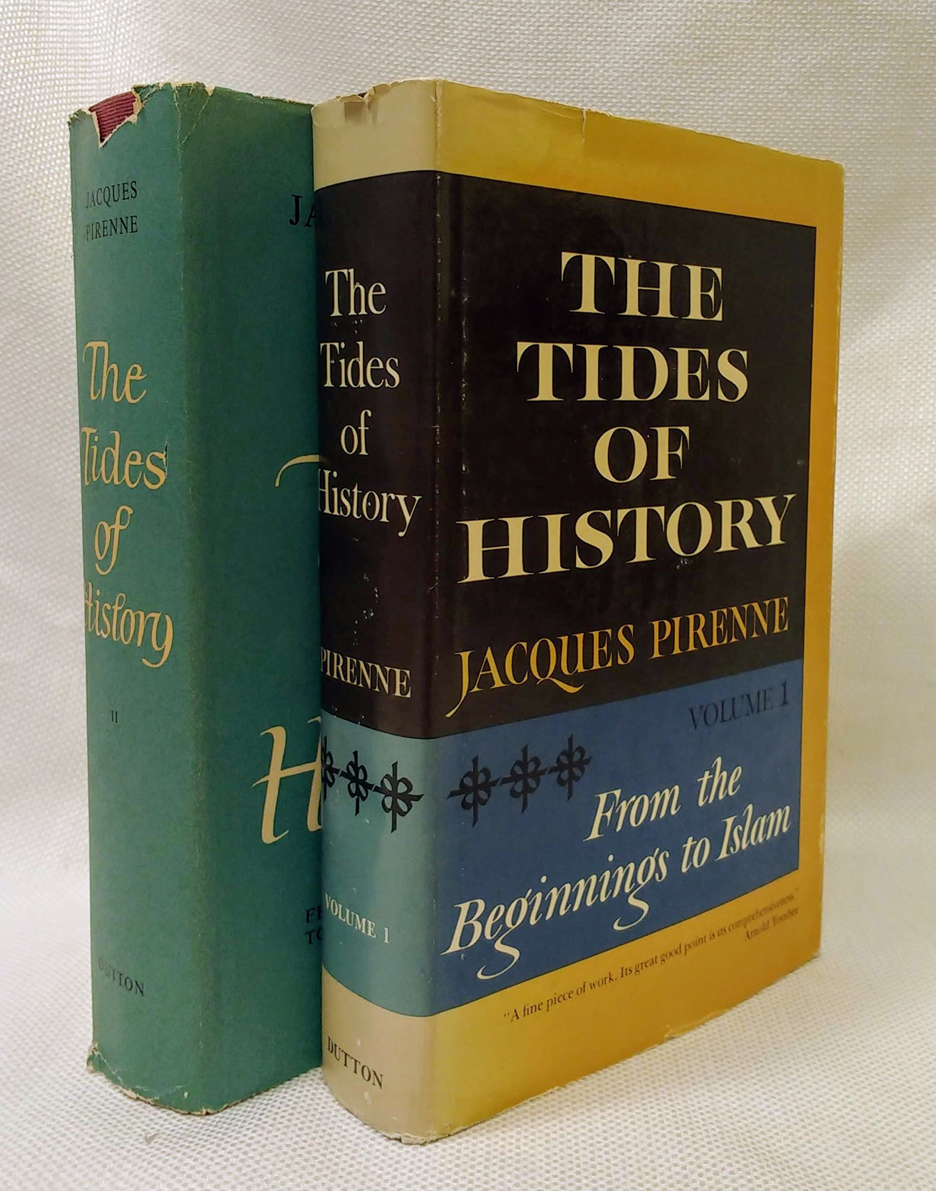 THE TIDES OF HISTORY VOLUMES I & II, Jacques Pirenne