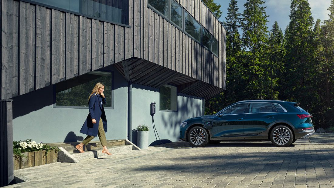 Audi e-tron Home Charging Station