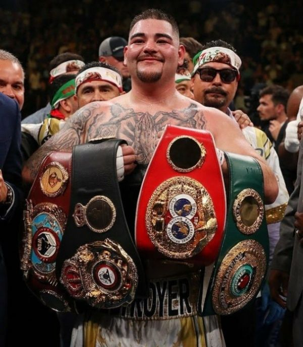 Boxing Champ Andy Ruiz Steps Out Of ₦76m Lamborghini To
