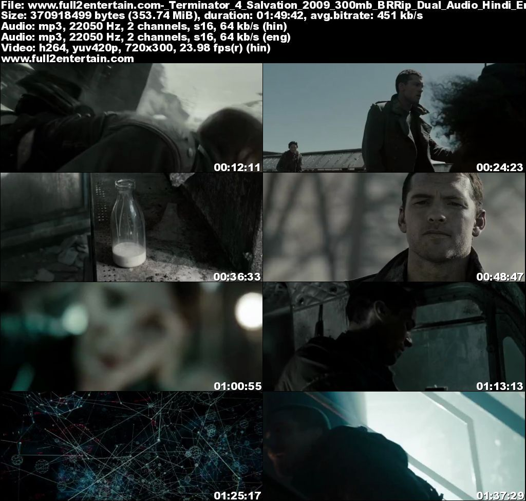 Terminator 4 Salvation 2009 Full Movie Free Download HD 300mb
