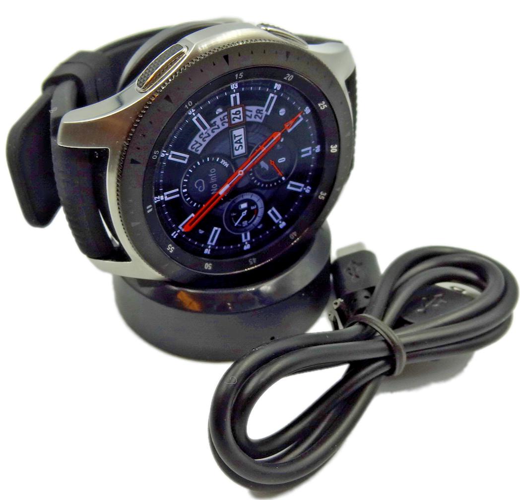 Samsung galaxy watch (sm r800) 46mm bluetooth argenté