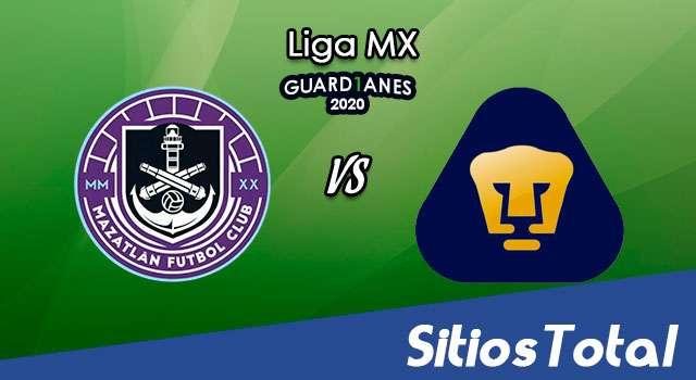 Mazatlán FC vs Pumas en Vivo – Liga MX – Guardianes 2020 – Sábado 15 de Agosto del 2020