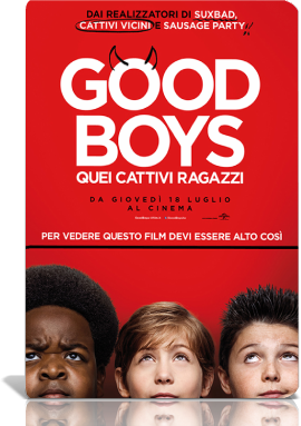 Good Boys - Quei Cattivi Ragazzi (2019).mkv MD MP3 720p HDTS - iTA