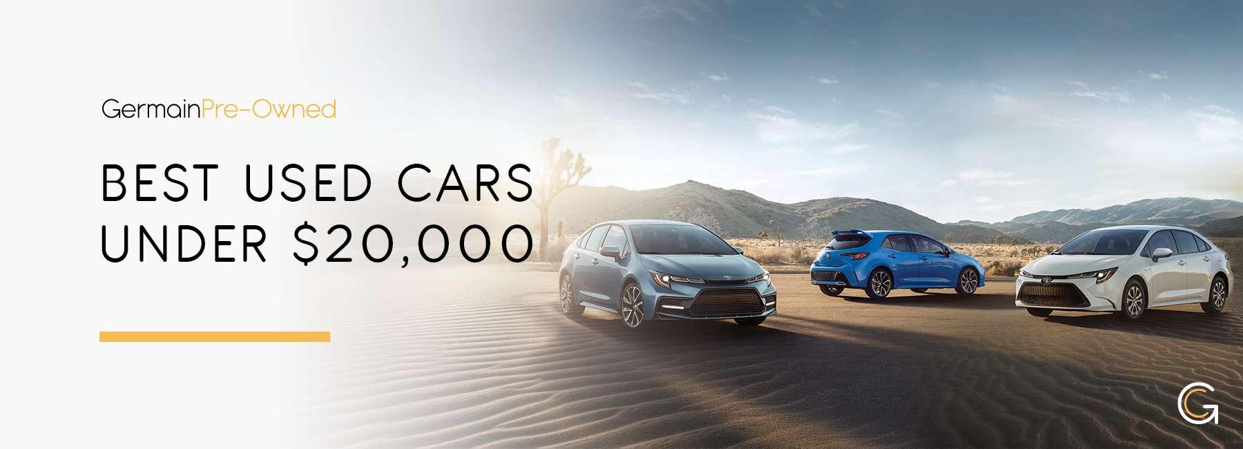 GermainCars Best New Cars Under $20,000