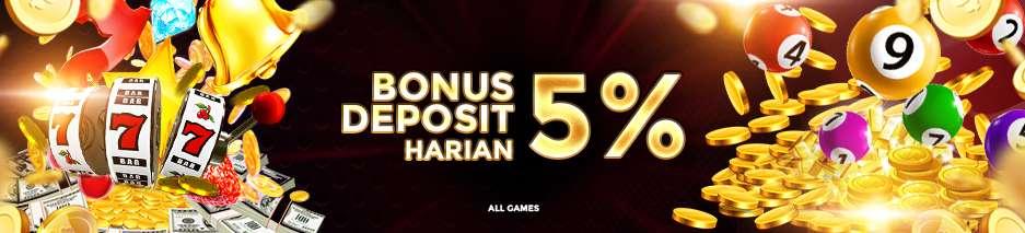 Bonus Harian 5%