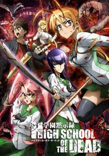 Highschool of the Dead's Cover Image