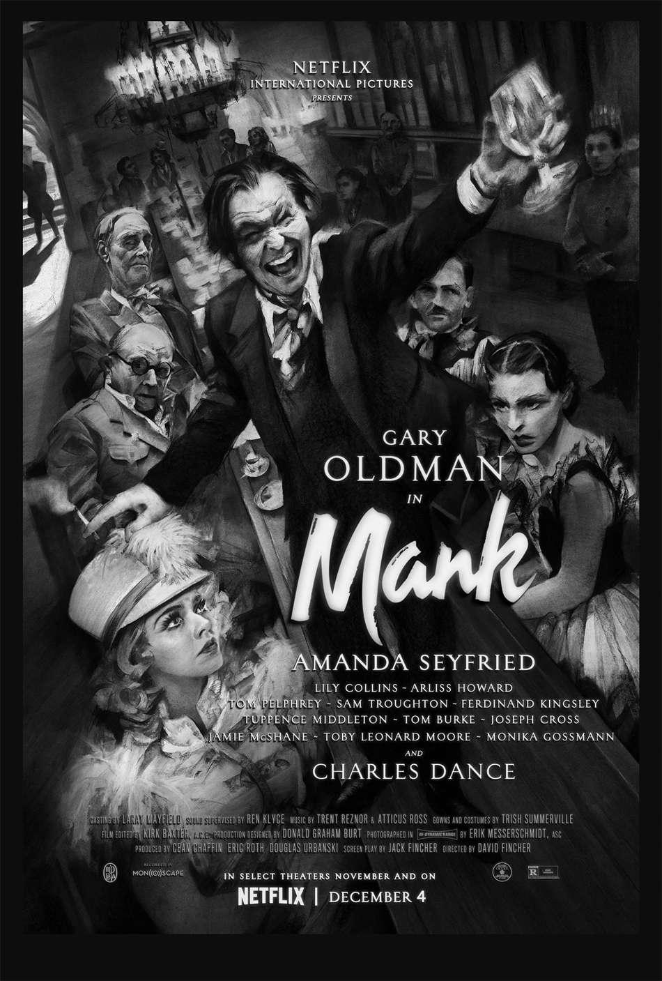 Μανκ (Mank) Poster