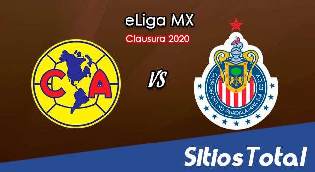 América vs Chivas en Vivo – Cuartos de Final – eLiga MX – Miércoles 10 de Junio del 2020