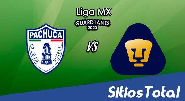 Pachuca vs Pumas en Vivo – Partido Ida – Cuartos de Final – Liga MX – Guardianes 2020 – Jueves 26 de Noviembre del 2020