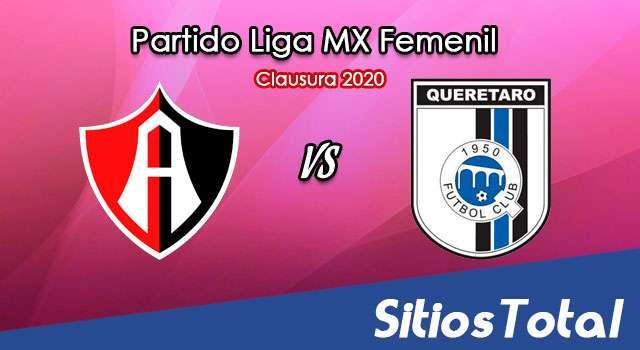 Ver Atlas vs Querétaro en Vivo – Partido de Vuelta – Cuartos de Final – Liga MX Femenil – Guardianes – Lunes 30 de Noviembre del 2020
