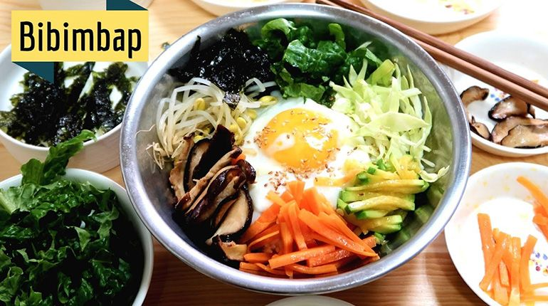 Easy and Healthy Meal - How to Make Korean Bibimbap
