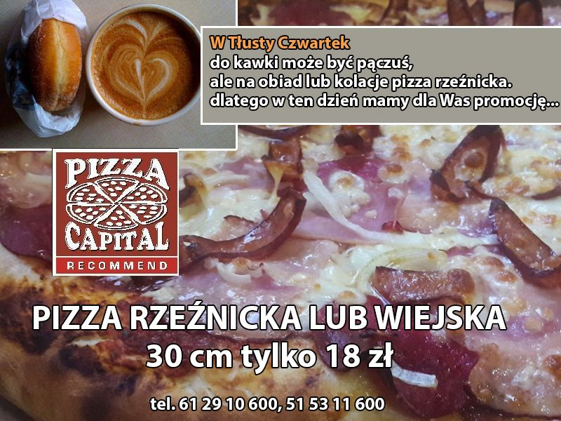 Pizza do pączusia
