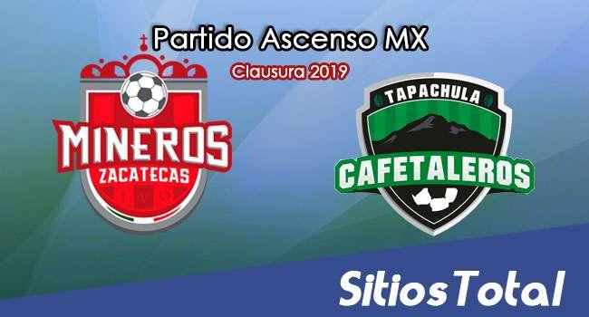 Ver Mineros de Zacatecas vs Cafetaleros de Tapachula en Vivo – Ascenso MX en su Torneo de Clausura 2019