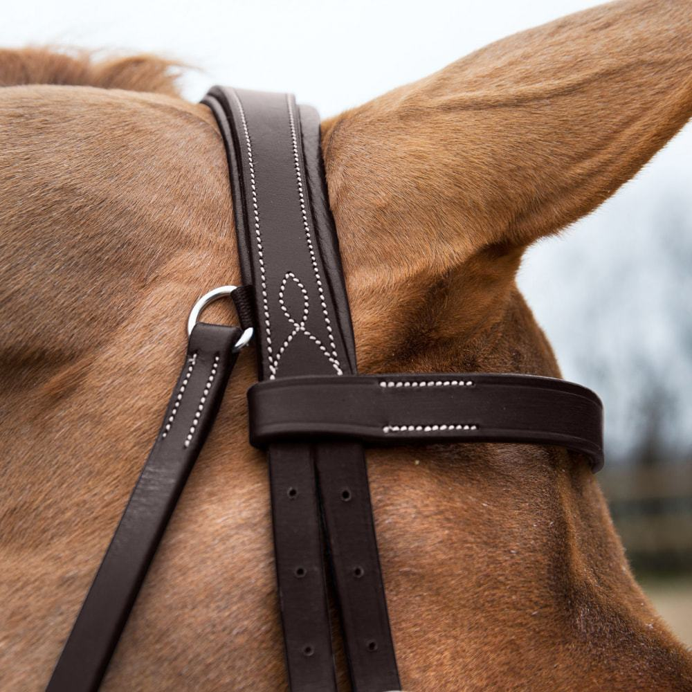 Horze-Supreme-Sparta-Hunter-Bridle-with-Wide-Browband-and-Detachable-Flash miniature 31