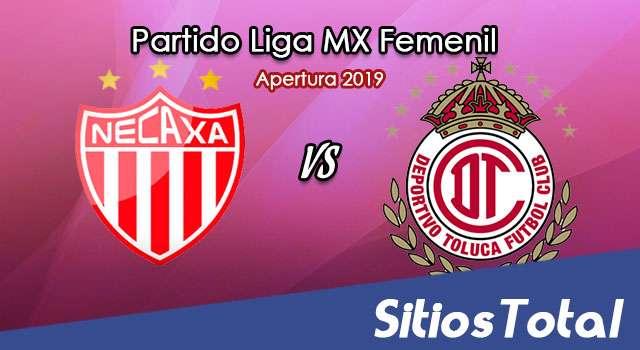 Ver Necaxa vs Toluca en Vivo – Liga MX Femenil – Apertura 2019 – Viernes 18 de Octubre del 2019