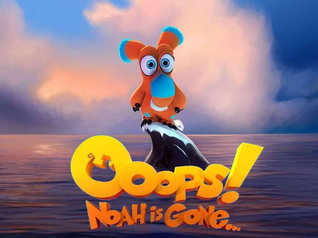 Ουπς! Ο Νώε Έφυγε… (Oops… Noah is Gone!) Quad Poster