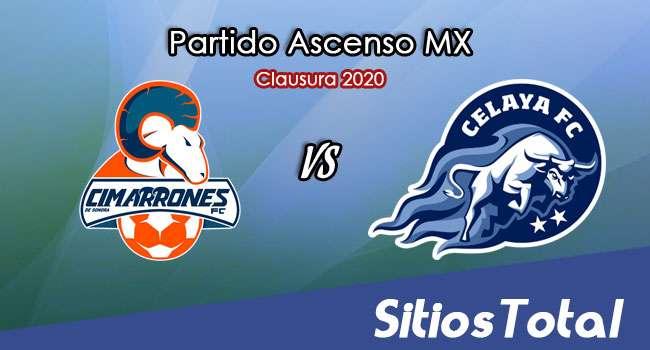Ver Cimarrones de Sonora vs Celaya en Vivo – Ascenso MX en su Torneo de Clausura 2020