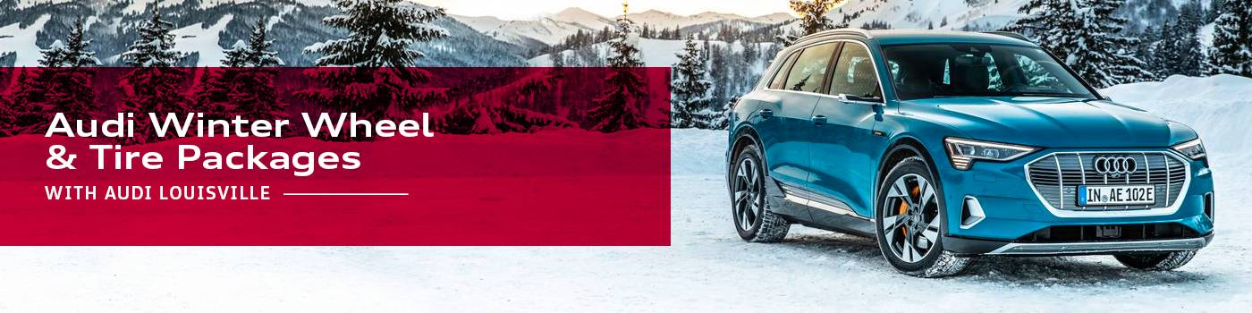 Audi Winter Tire Packages at Audi Louisville