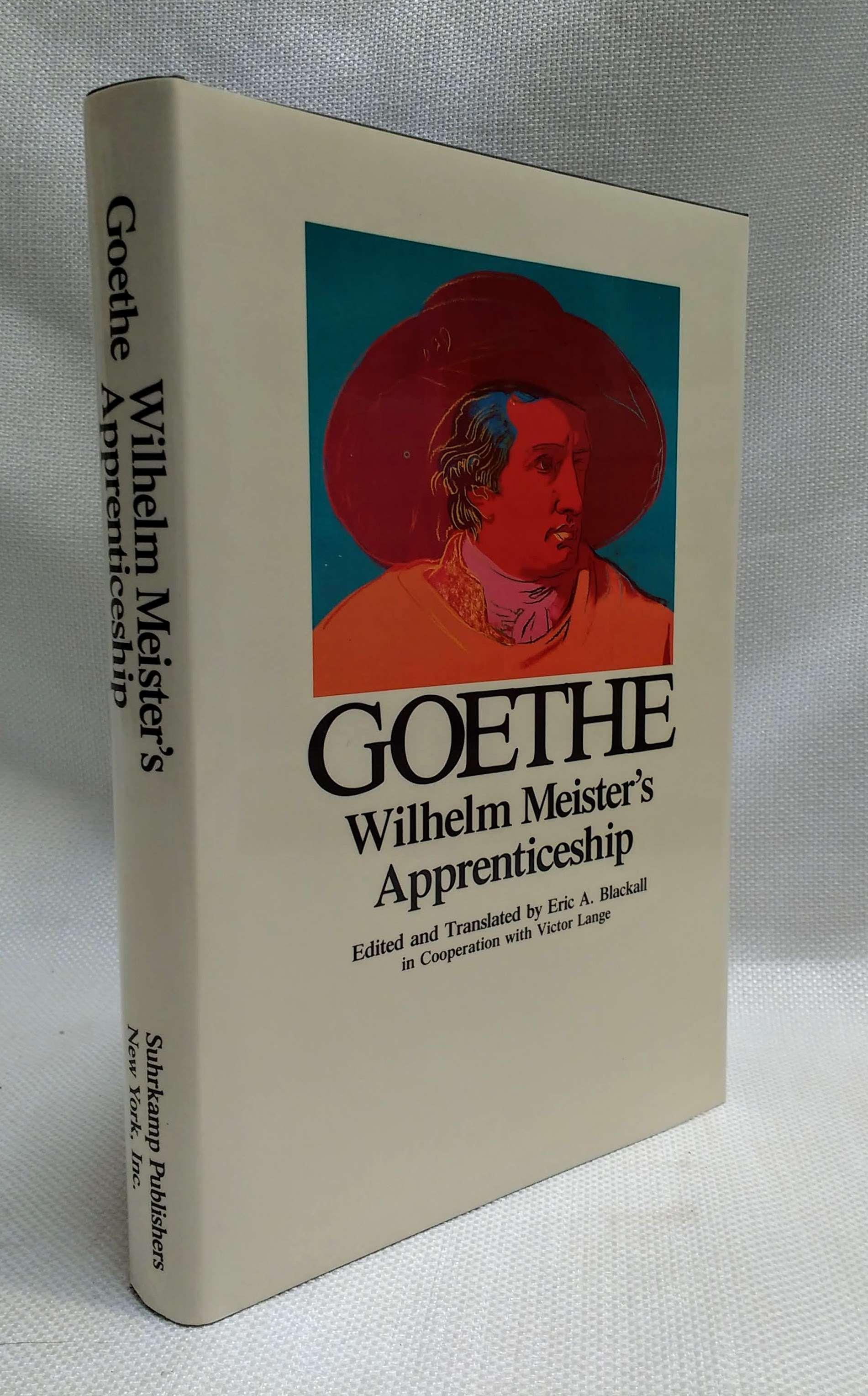 Wilhelm Meister's Apprenticeship (Goethe: The Collected Works, Vol. 9), von Goethe, Johann Wolfgang; Blackall, Eric A. [Editor]