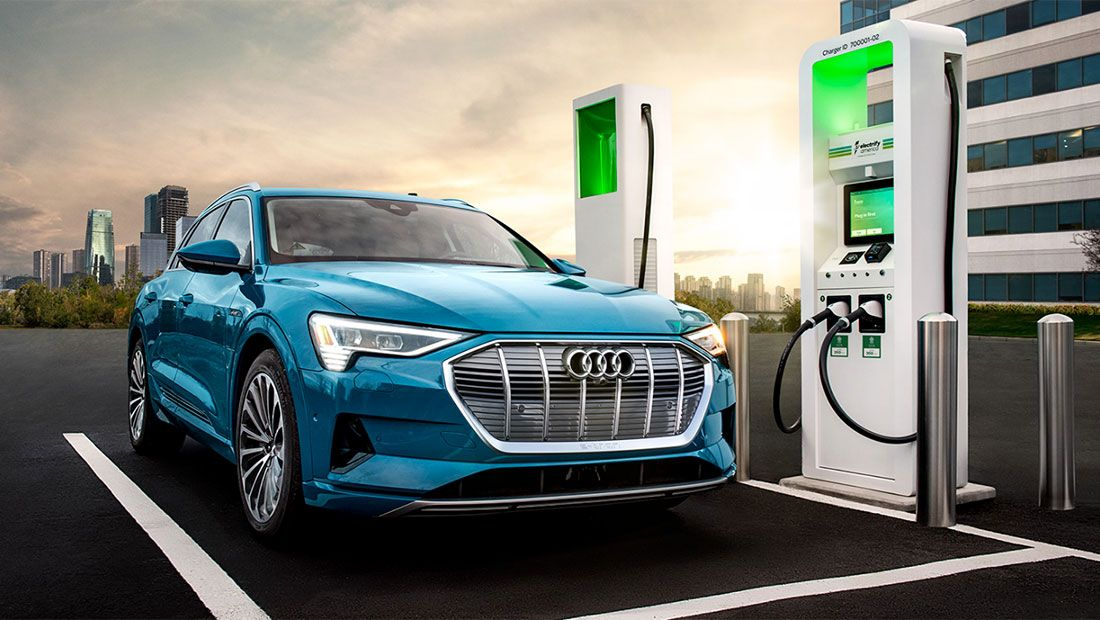 Audi e-tron Mobile Charging Station