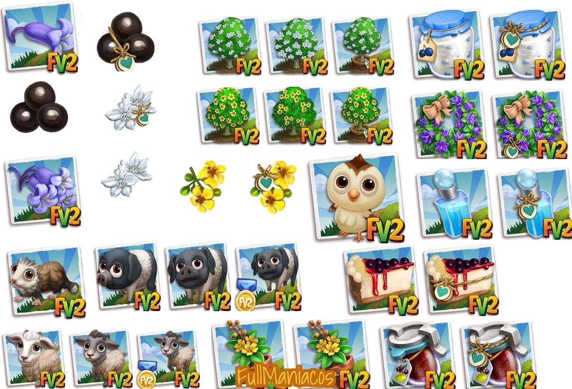 Farmville 2 Nuevos Items de Edicion Limitada Disponibles 5 junio