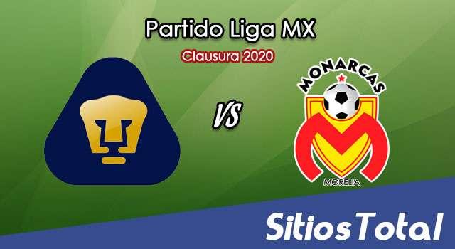 Ver Pumas vs Monarcas Morelia en Vivo – Torneo Clausura 2020 de la Liga MX