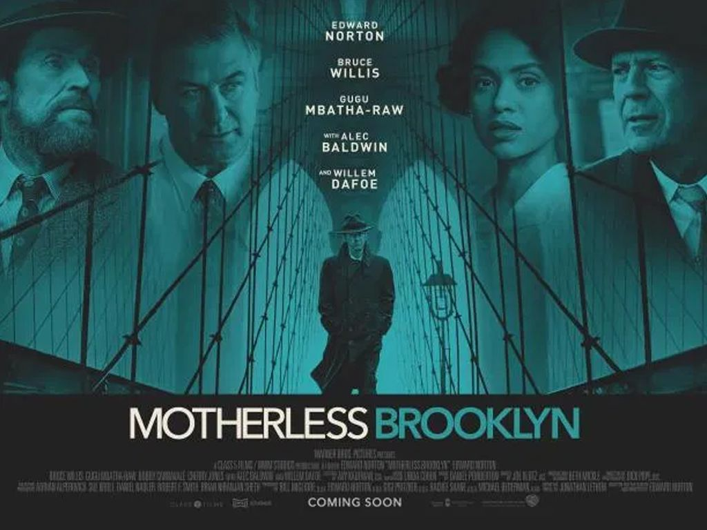 Οι Σκιές του Μπρούκλιν (Motherless Brooklyn) Quad Poster