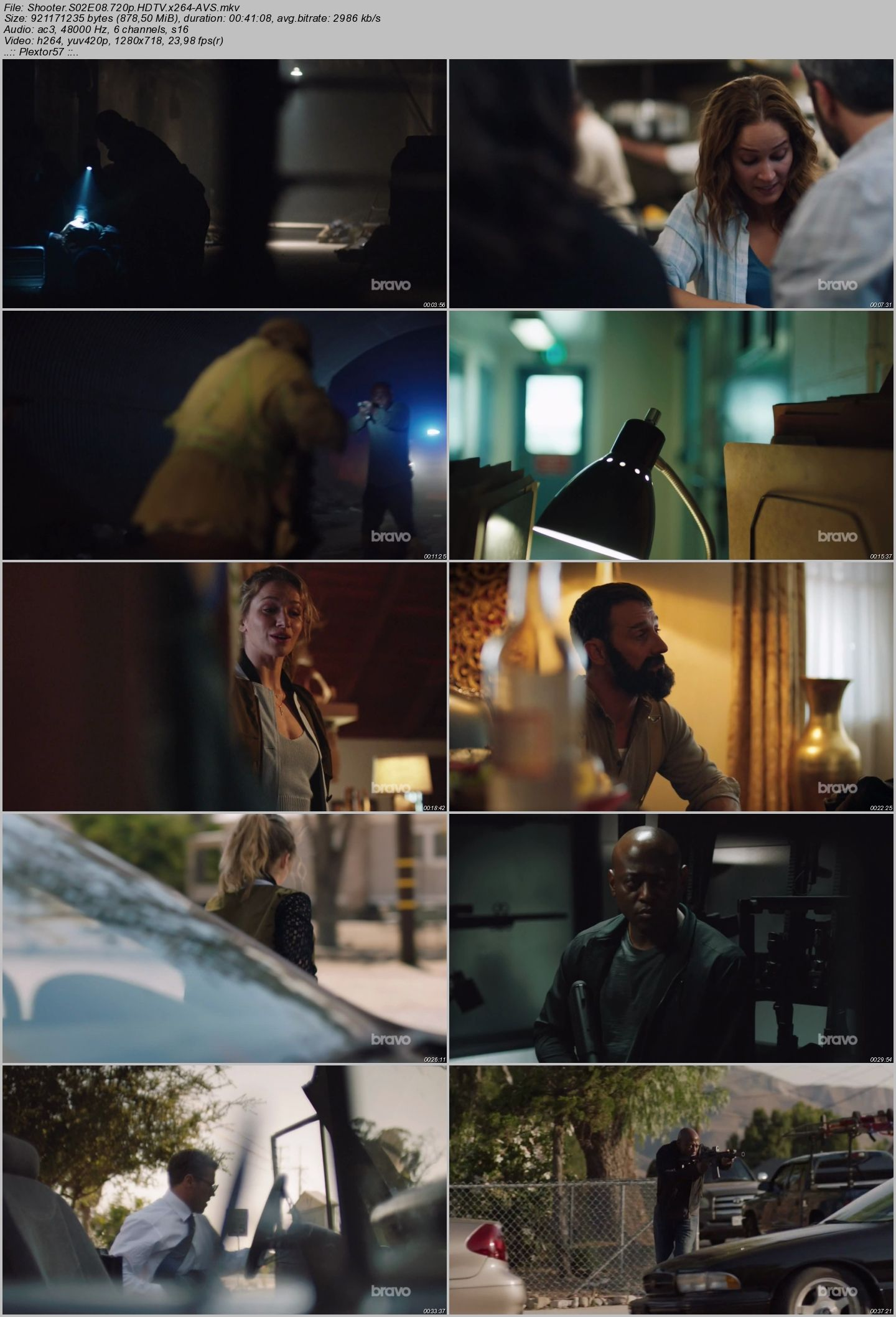 Shooter - Sezon 2 - 720p HDTV - Türkçe Altyazılı