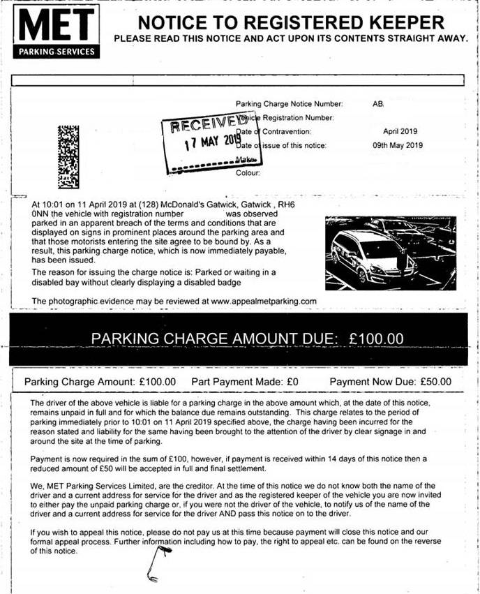Met Parking Services >> Fightback Forums Met Parking Services