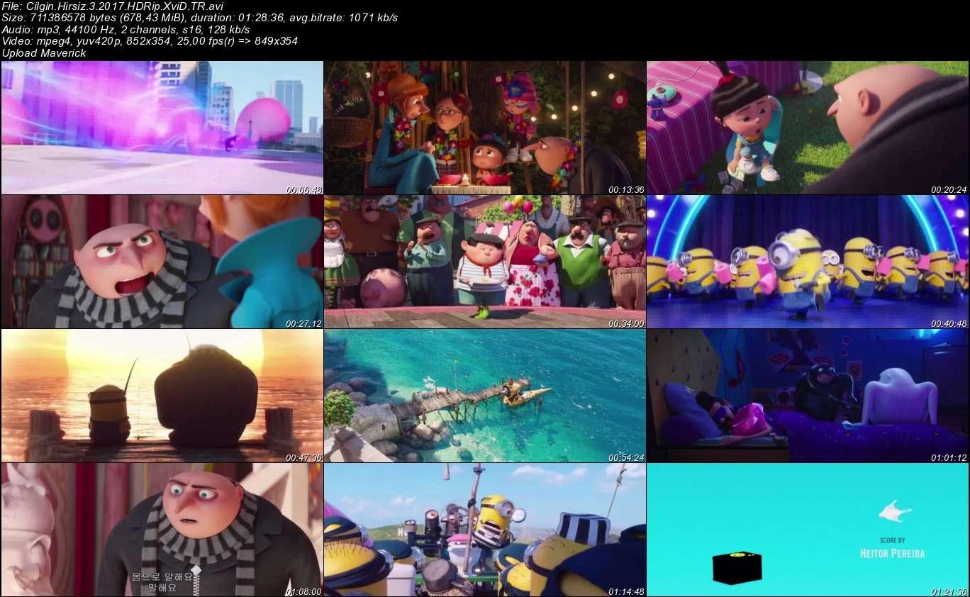 Çılgın Hırsız 3 - 2017 Türkçe Dublaj HDRip XviD indir