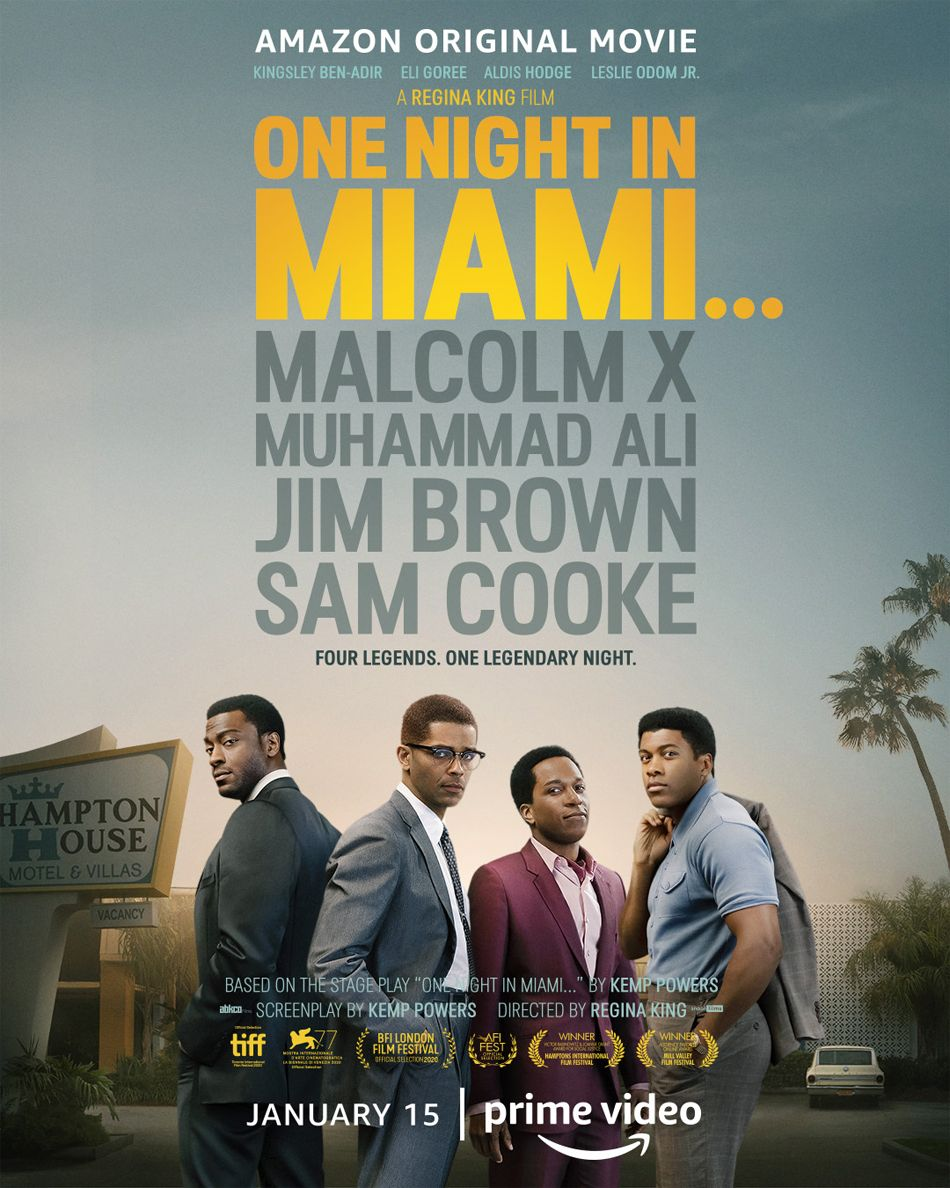 One Night in Miami... Poster Πόστερ