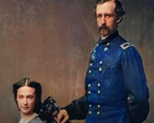 general custer et épouse