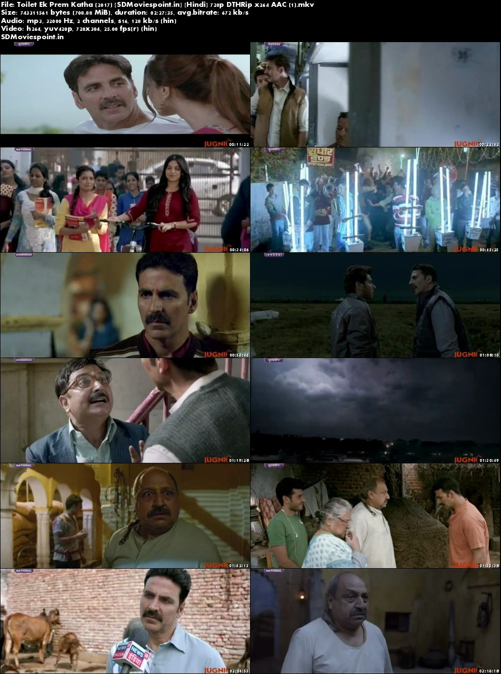 Screen Shots Toilet Ek Prem Katha (2017) Full HD Movie Download Free