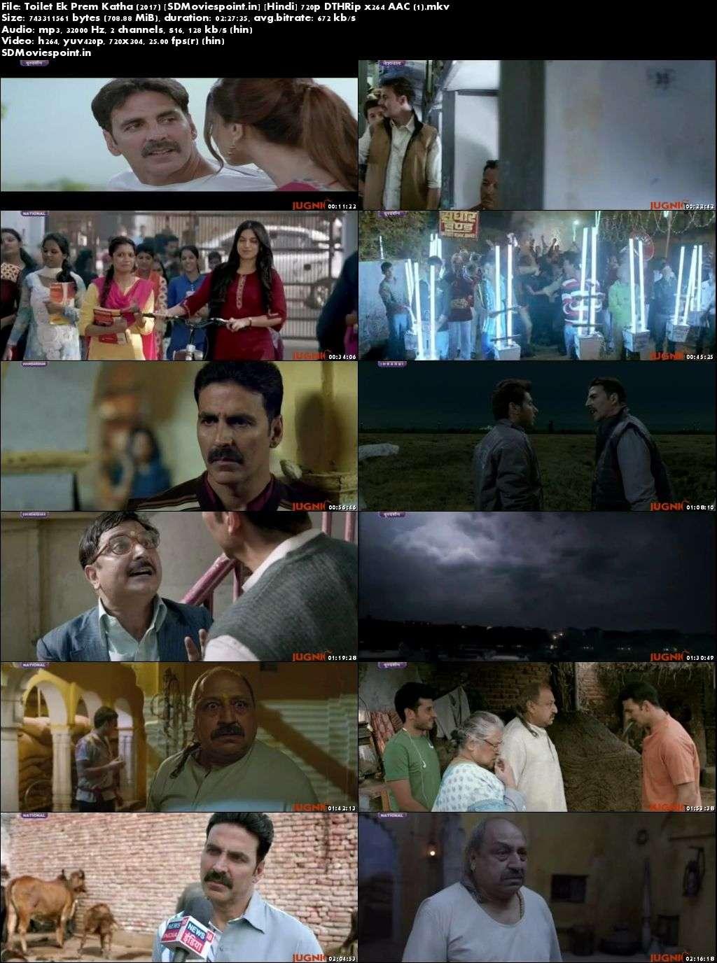 Screen Shots Toilet Ek Prem Katha 2017 Full Hindi Movie Download HD Free 720p