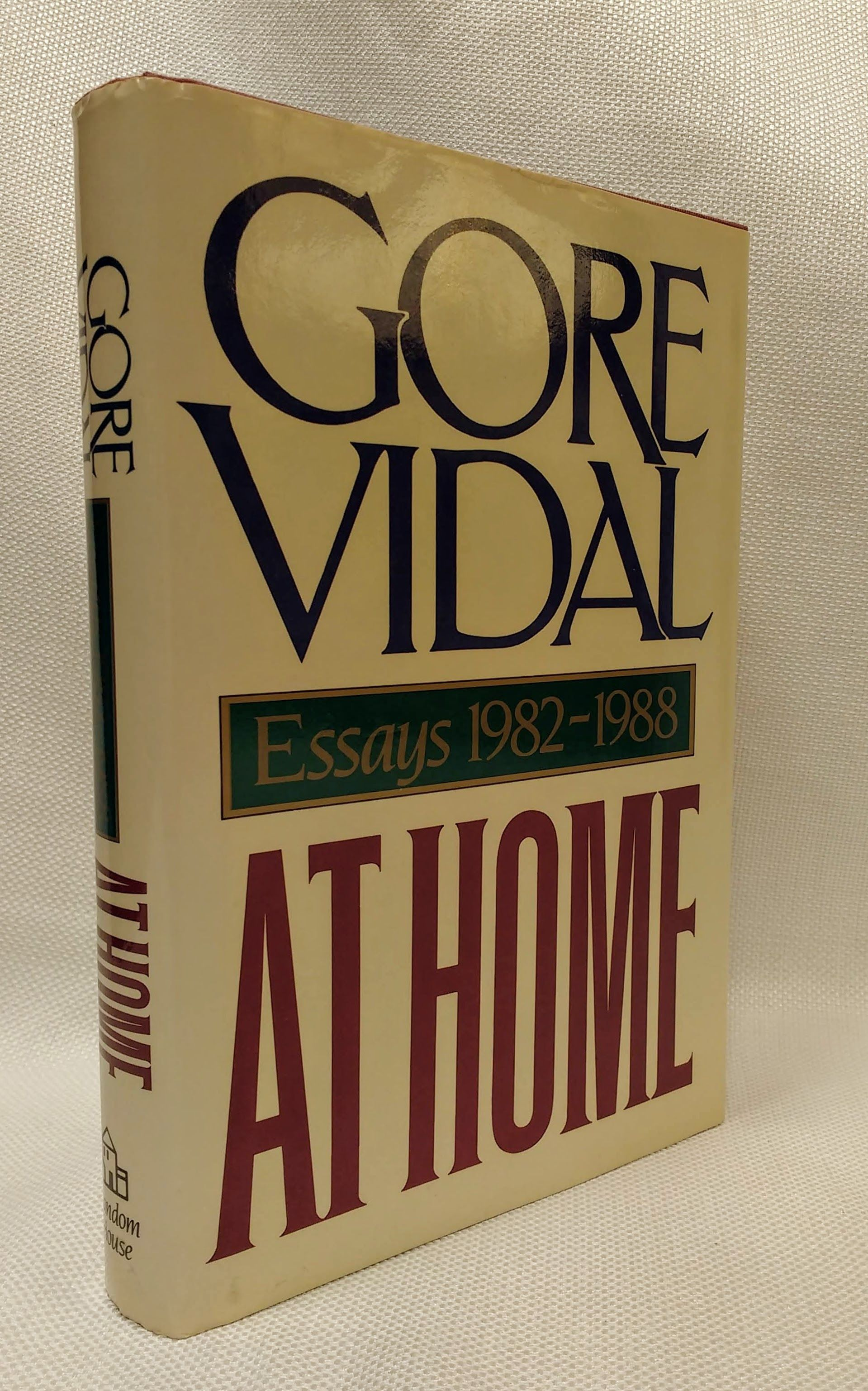 At Home: Essays, 1982-1988, Vidal, Gore