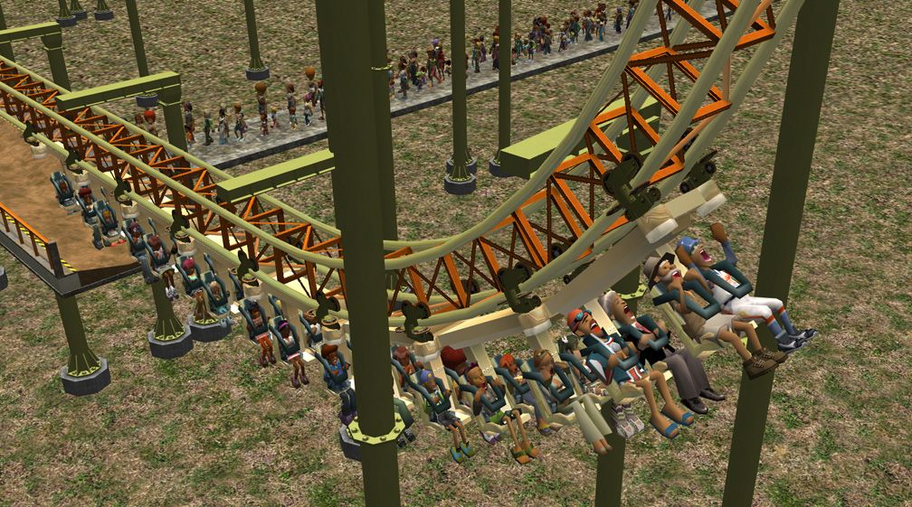 Demo Screenshot Image 02, My Downloads - Coasters, Rides, & Attractions - Coaster: The Red Asp