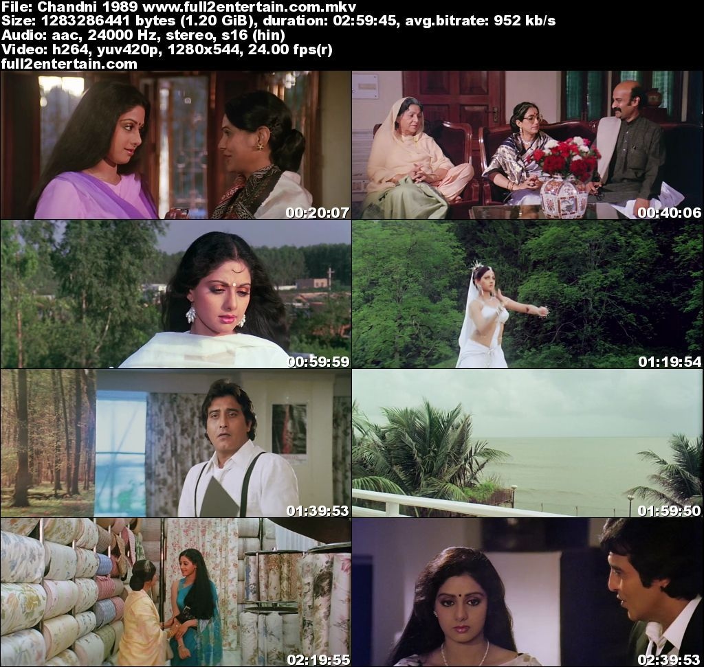 Chandni 1989 Full Movie Free Download HD