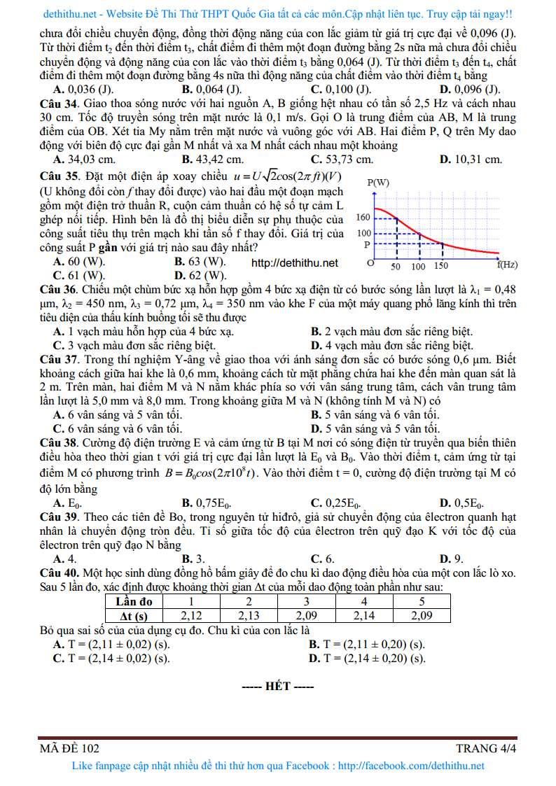 De thi thu mon Vat Ly 2018 so GD&DT Binh Phuoc trang 9