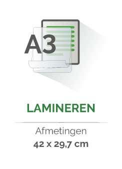 lamineren `a3