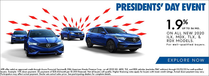 Acura Presidents Day Offers in Chicago, Illinois